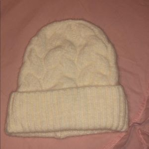 Old Navy cream colored beanie